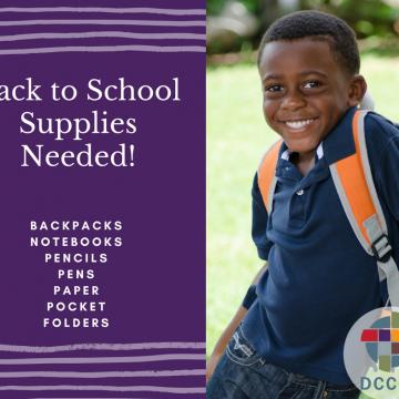 School Supplies Needed!