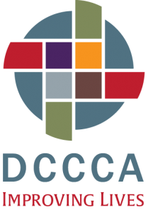 New DCCCA logo and tagline