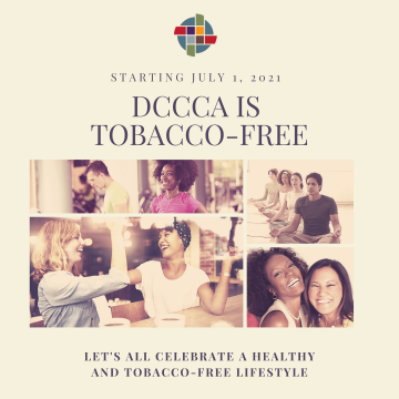 DCCCA is going tobacco-free