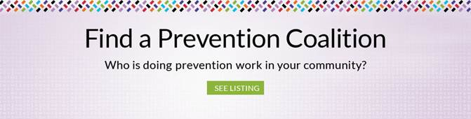 Find Prevention Coalition Slider Image