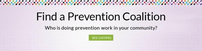 Find Prevention Coalition Slider Image