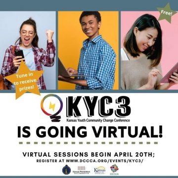 Kansas Youth Community Change Conference (KYC3) transitions to virtual format