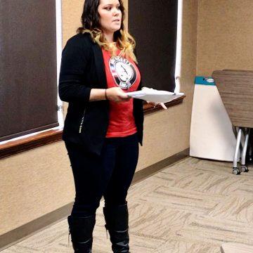 Americorp Volunteer Leigha Schmalstieg