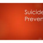 Suicide Prevention Module Series