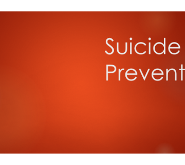 Suicide Prevention Module Series