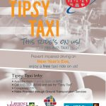 Lawrence Tipsy Taxi Provides Safe Rides Home NYE 2017